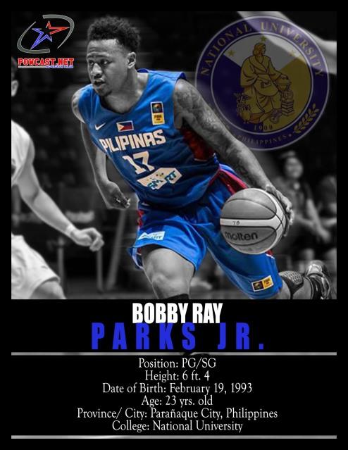 Bobby Ray Parks Jr. Gilas Pilipinas