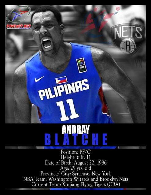 Andray Blatche Gilas Pilipinas