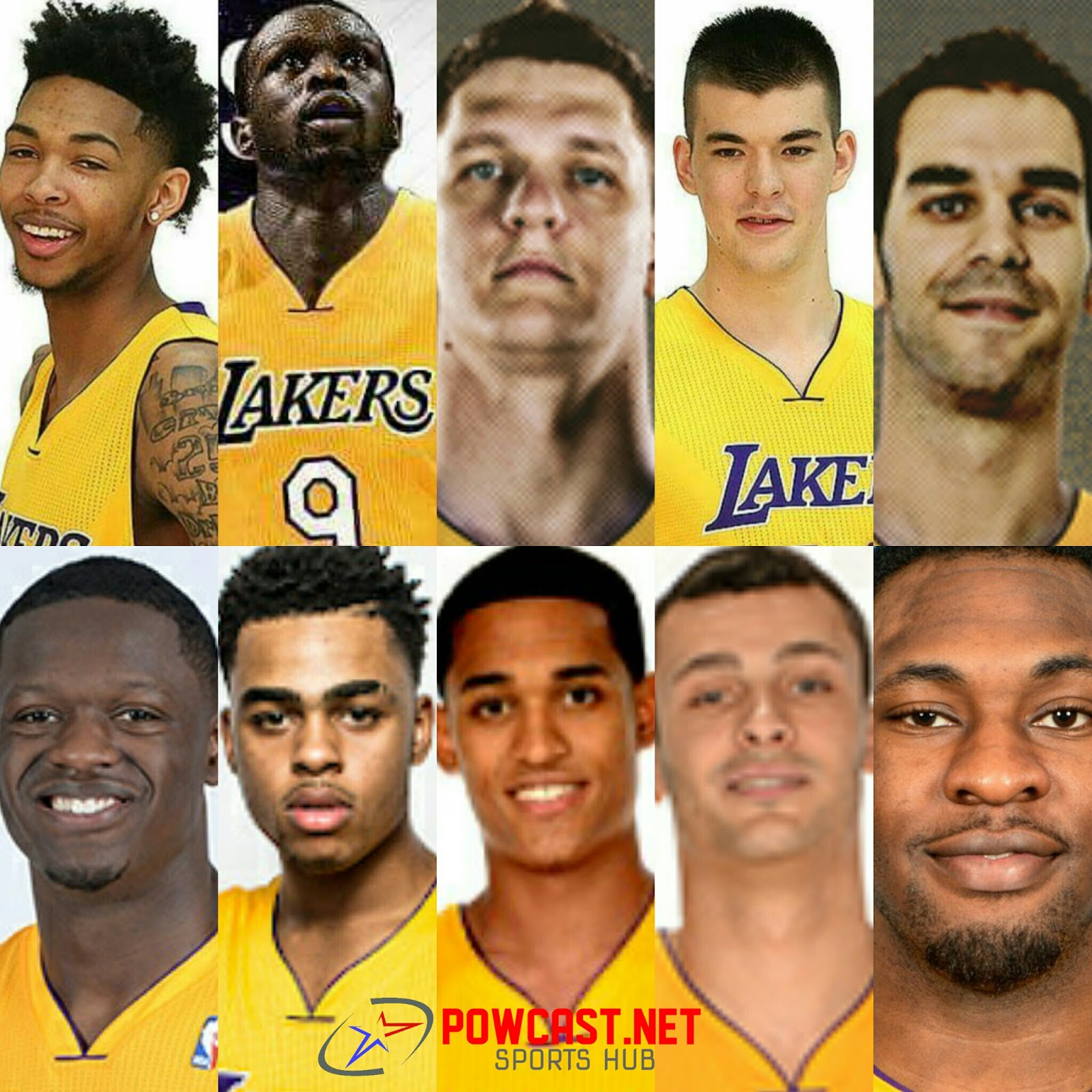 La Lakers Pow Salud Studio