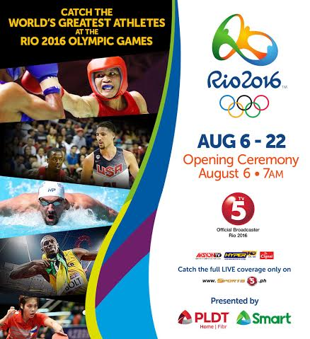 5 Days to go for RIO! Where can we catch the games!