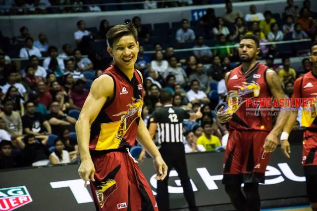 SMB parted ways with AZ Reid, Singletary steps in but SMB blown away by tropang TNT 105-85!