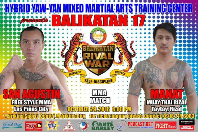 Hybrid Yaw-Yan  Balikatan 17 - RIVAL WAR moved to October 29