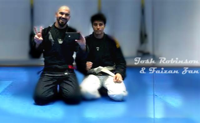 Josh Robinson and Faizan Zan