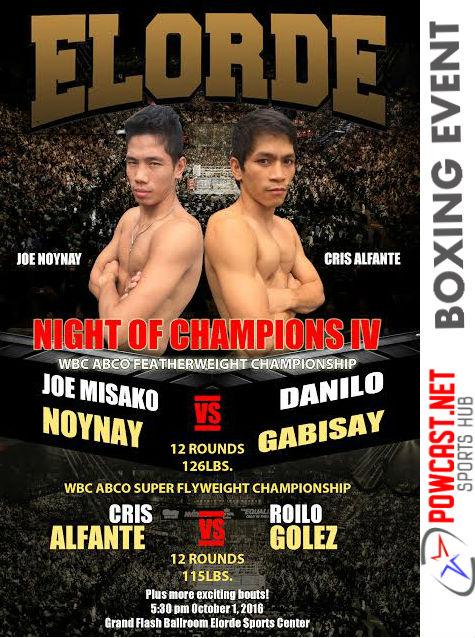 Elorde: Night of Champions IV Noynay vs Gabisay