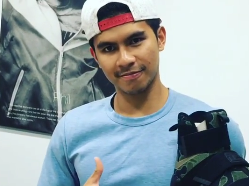 OMG! Kiefer Ravena  Received A Special Gift and a Message from LeBron James