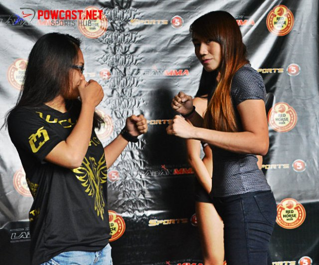 Photos from PXC Laban MMA Manila Weigh-in and Press con