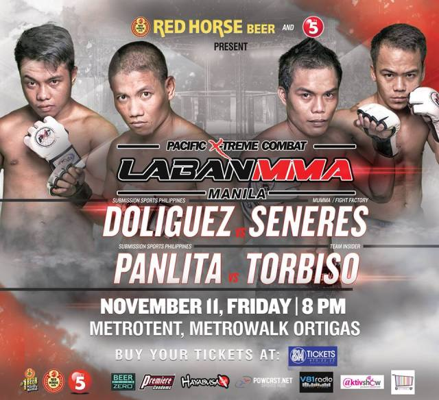 PXC Laban MMA Manila Gets Blood Pumping at the Heart of the Metro