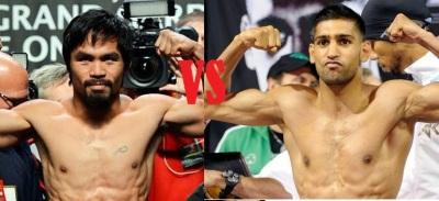 Manny Pacquiao vs Amir Khan