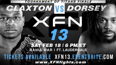 United Fight Alliance is Proud to Present XFN 13: Tournament of Titans Finale