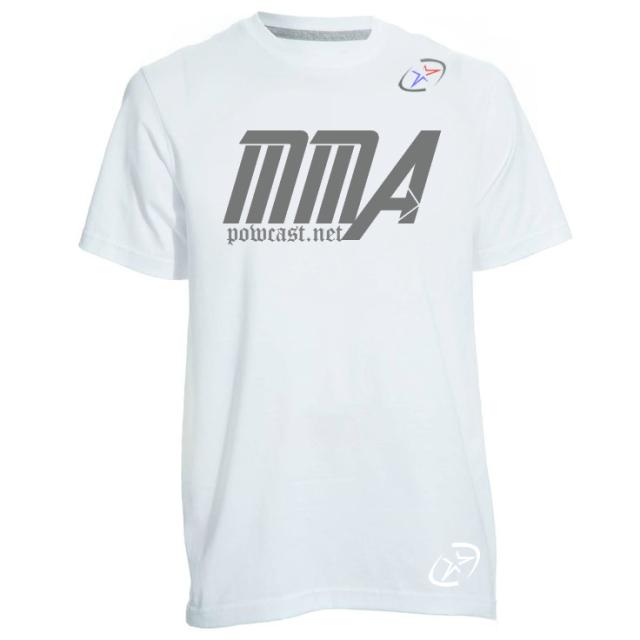 Powcast MMA Shirt 001
