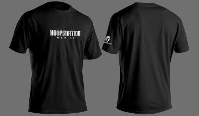 HoopsNation Manila Black Shirt P600.00 only