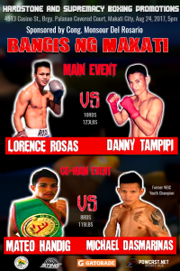 Bangis ng Makati: Rosas vs Tampipi on August 24