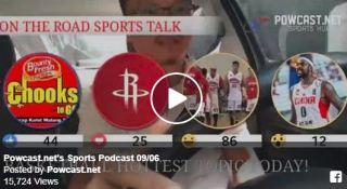 Sports Podcast: Chooks To Go Pilipinas, Rockets, Ginebra and Andray Blatche