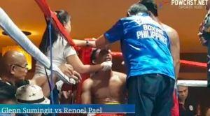 Glenn Summingit Retained PH Bantamweight Belt Via Technical Decision