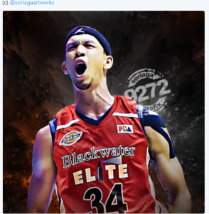 Chris Ellis Blackwater jersey
