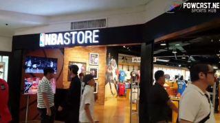 Powcast Live: NBA Store Makati Tour
