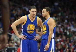 The Dubs' Splash Brothers (Klay Thompson and Steph Curry)