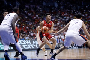 Scottie Thompson 2017 Governors Cup Finals