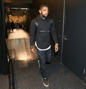 Foul Words from Kyrie Irving to a Fan
