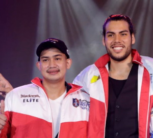 Christian Standhardinger and Raymar Jose 2017 PBA Rookie Draft