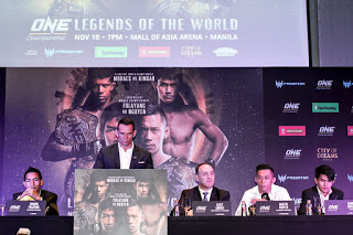 EDUARD FOLAYANG FACES OFF WITH MARTIN NGUYEN AT ONE: LEGENDS OF THE WORLD KICK-OFF PRESS CONFERENCE