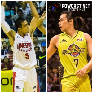 Terrence Romeo and LA Tenorio Trade