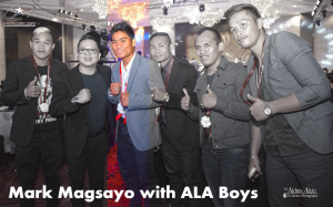 Mark Magsayo and the ALA Boys